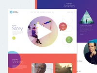Future of Story Telling Homepage