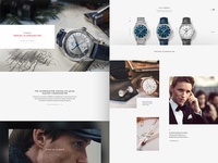 Omega Watches E-Commerce