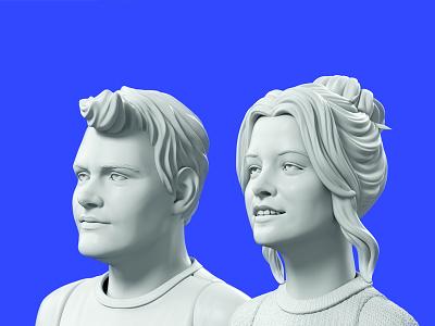 ToyFight Team Headshots headshot model 3d digital agency toyfight