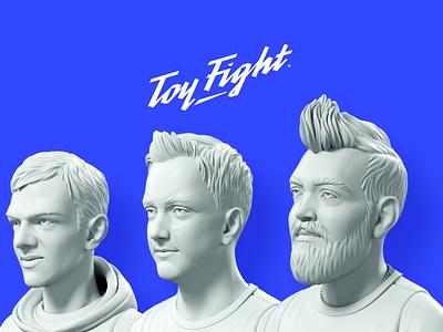 ToyFight Headshots toyfight model headshot digital agency 3d