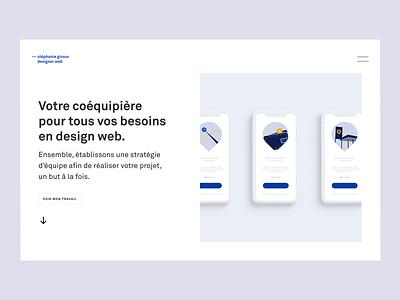 New website online portfolio design portfolio minimal webdesign ui website