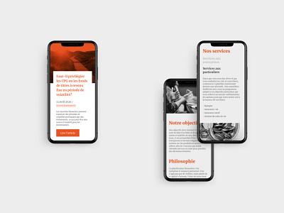 Trinergia Case study ui design casestudy finance ux webdesign ui website