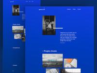 Portfolio website #1