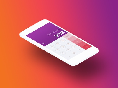 Daily UI Challenge #004 | Calculator minimal ui challenge dailyuichallenge dailyui 004 dailyui calculator