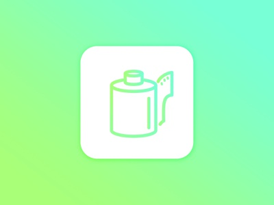 Daily UI Challenge #005 |  App Icon dailyuichallenge shootfilmstaybroke film photography camera roll app icon dailychallenge ui challenge dailyui005 dailyui ui