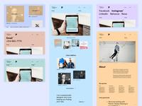 Designer Portfolio - Final UI