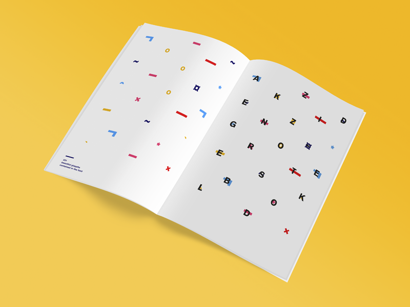 Typographic specimen - Akzidenz-Grotesk by Maxence Henric on