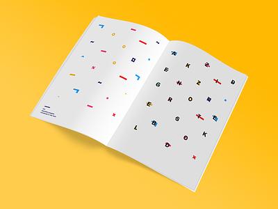 Typographic specimen - Akzidenz-Grotesk typographic specimen print poster graphic font design editorial book