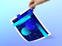 Poster henric maxence dribbble hd