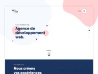 Nova-Azur - Landing page