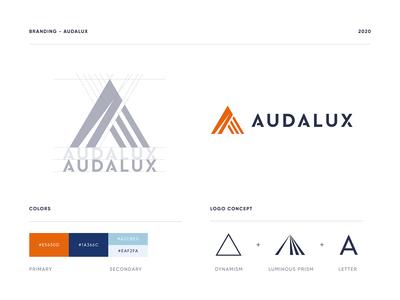 Audalux - Brand identity #2