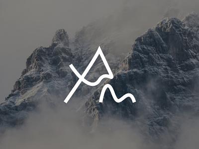 Am company logo travel experience logo mission adventure