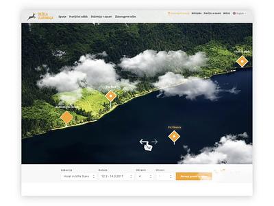 Fairytale of Dežela Zlatoroga prototype nature traveling adventure explore travel slovenia