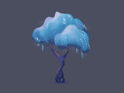 Magic Tree (Hello Dribbble!)