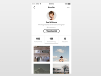 Dailyui006 user profile