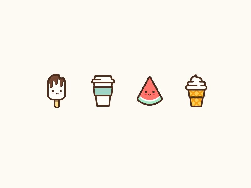 Summer Icon by Abby Wang - Dribbble