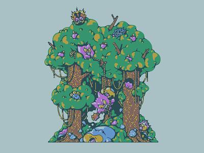 DREAM EATER ken sugimori illustration apples ditto snorlax nintendo pokemon gengar