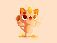 Meowth   #52