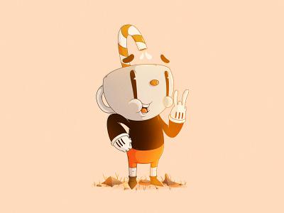 Cuphead   Video Game illustration gaming cuphead studio mdhr mugman character