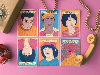 Stranger Things Print Pack