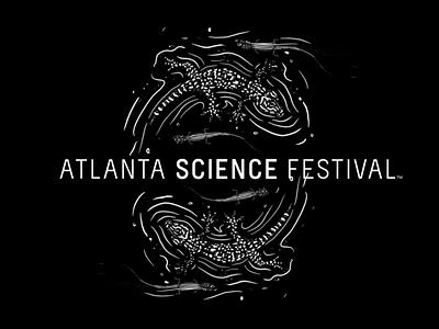 Atlanta Science Festival Illustration procreate t-shirt art science illustration