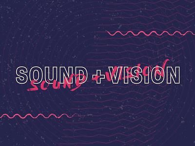 Sound + Vision | Atlanta Film Festival event installation art concert atlanta poster film festival vision sound