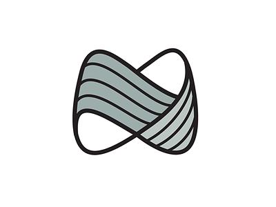 Minitech Machinery Logo cmc machine waves infinity tech line logo