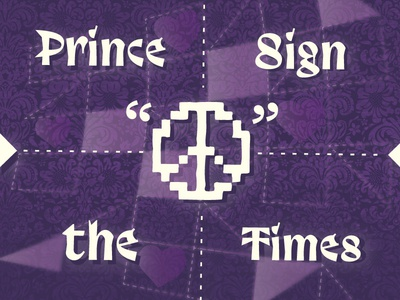 ATL Collective Relive's Prince's Sign 'O' the Times