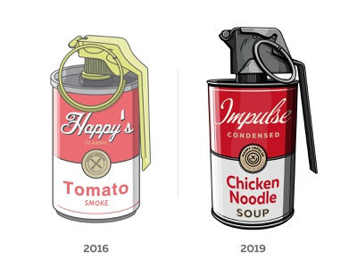 Art Not War illustration improvement war andy warhol creative soup happyimpulse happy impulse