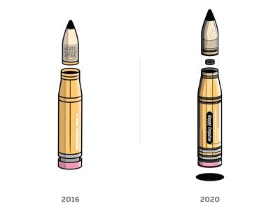 Pencil Bullet progress pencil bullet creative play playful illustration happyimpulse happy impulse