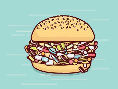 Pillburger by  22happy impulse 22
