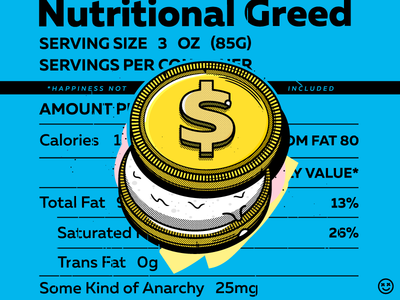 Nutritional Greed