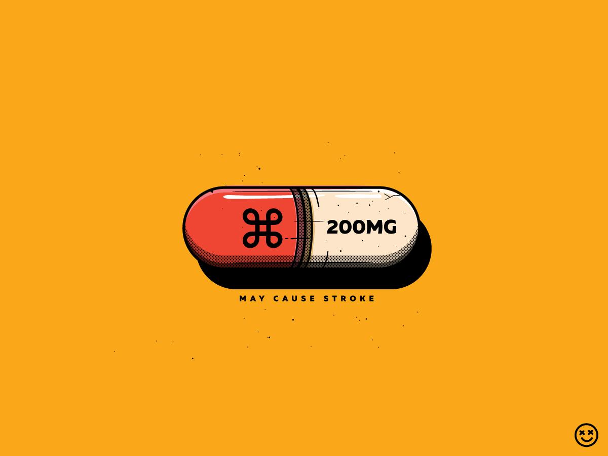 May Cause Stroke mac fun addiction control drug happyimpulse happy impulse pill