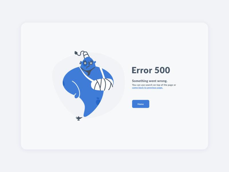 Error 500 web error page error 500 ux design illustration interface ui