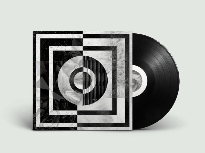 cover music vinyl blackandwhite contrast textures colors cover