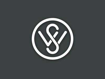S W initials ~ logo