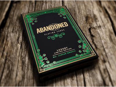 Dynamo Abandoned Playing Cards