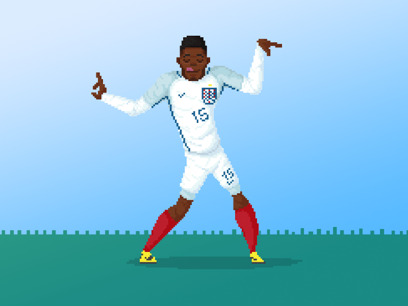 Daniel Sturridge Eurocup By Anthony Mendes On Dribbble