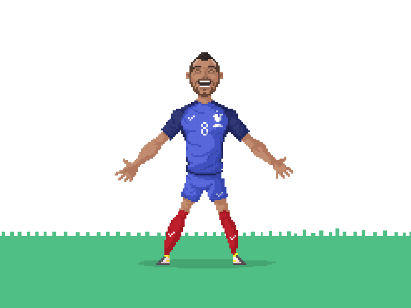 Logo Pixel Art Logo Foot France