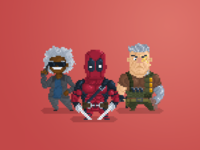 Pixel Little Guys: Deadpool 2