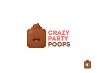 Crazy Party Poops Logo