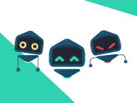 Robo Mascot V.2 Expressions