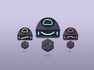 Robot Mascot V.5 vector art friendly android droid robot character design mascot design mascot logo 8-bit geek vector flat cute illustration design