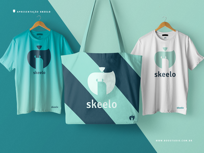 Skeelo Logo Iteration nuts squirrel graphic  design vector branding logo design