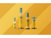 Cachaça Chuva Packaging: Honey