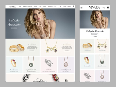 Vivara: Jewelry eCommerce trend fashion ecommerce gisele jewelry