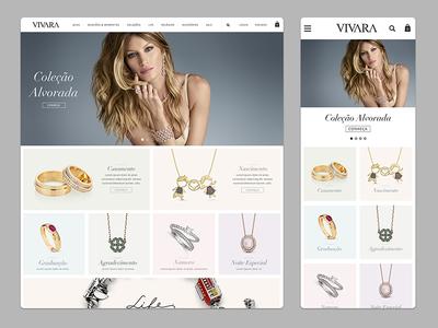 Vivara: Jewelry eCommerce by Daniel Racca - Dribbble