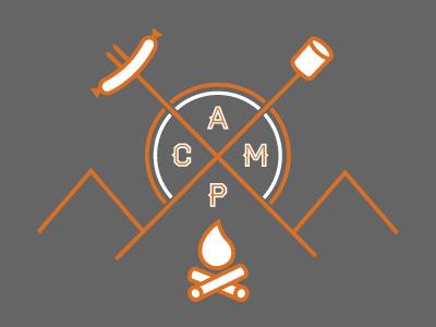 CAMP t-shirt design