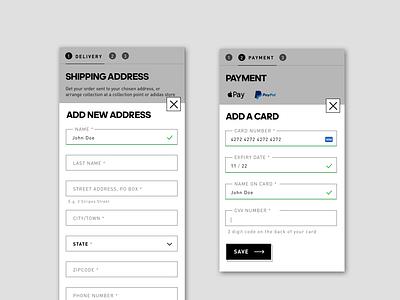 checkout checkout form design ui uichallenge