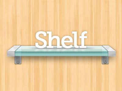 Shelf shelf rapidweaver stack stacks plugin glass wood clean